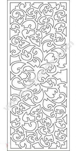 pattern vector cnc carvings 2D24