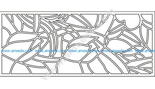 pattern vector cnc carvings 2D25