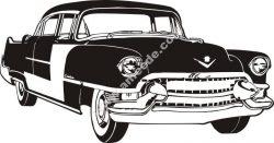 Antique Cadillac car