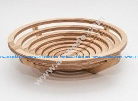 Archimedes Spiral Bowl