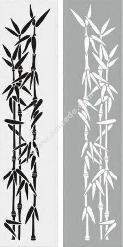 Bamboo Sandblast Pattern