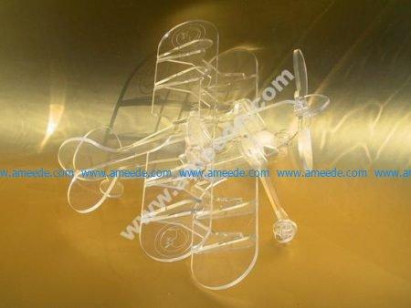 Biplane Laser Cut