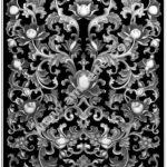 Floral 3D Model for CNC Bitmap (.bmp) file