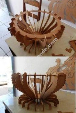 Fruit Bowl CNC Cut