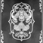 Grayscale 3D Model Relief for CNC BMP