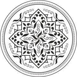 Mandala Flower EPS