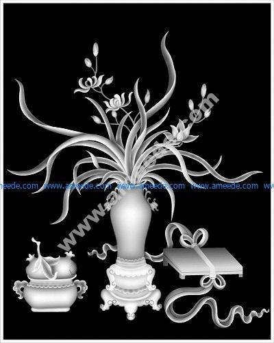 3D Grayscale Image 14 BMP