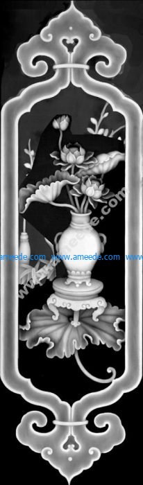 3D Grayscale Image 8 BMP