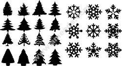 Beautiful Seamless Merry Christmas