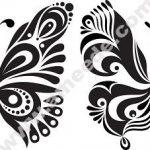 Black White Butterflies Of Tattoo