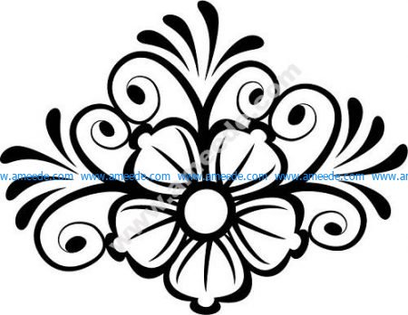 Decor Flower Vector