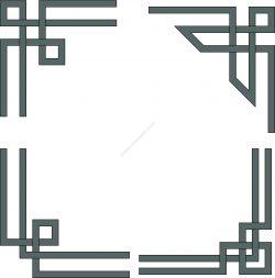 Interlaced borders