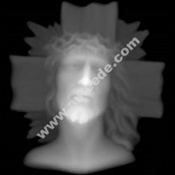 Jesus Grayscale Image BMP