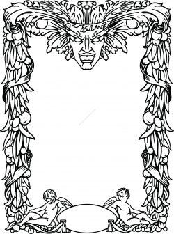 Renaissance border design