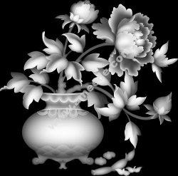 Rose vase picture