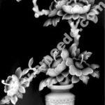 Sculpted camellia tree shape