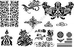 Seamless Swirl Patterns