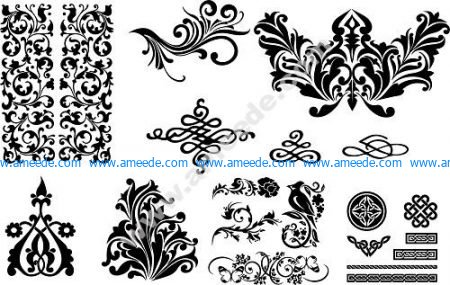 Seamless Swirl Patterns