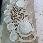 Teapot tray for tea