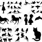 Various Silhouettes Set