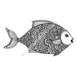 Zentangle Fish