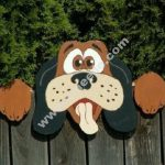 dog shaped fence