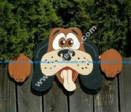 dog shaped fence