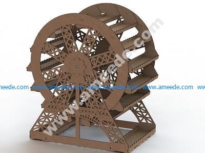 ferris wheel CNC Projects