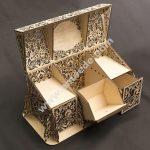 jewelry box assembly model
