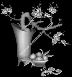 this picture the cherry blossom on Tet