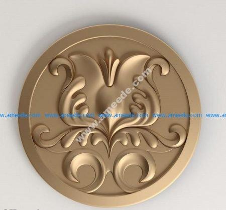 3D model rosette