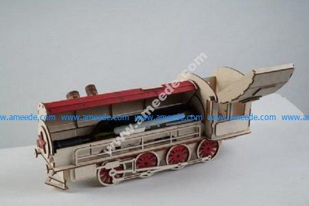 Wine Box Locomotive Train