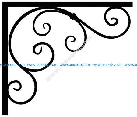 Corner Design Vector Corel File 14 Amee House