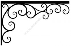 Corner design Vector corel file 9