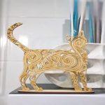 Cute Cat Jewelry Organizer