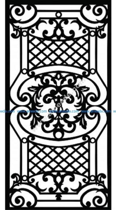 Decorative Screen Pattern 14