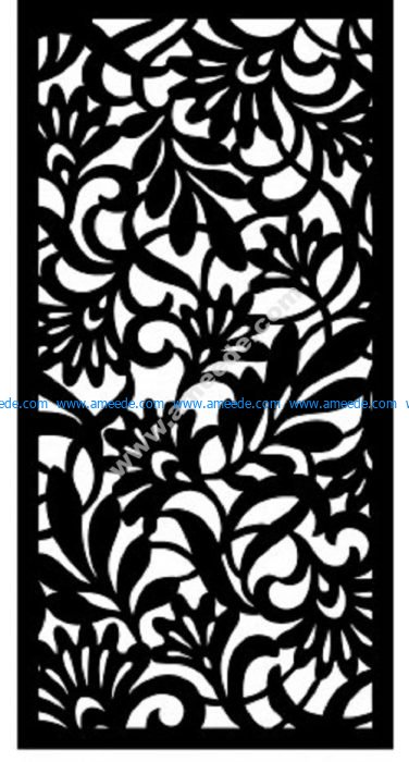Decorative Screen Pattern 16