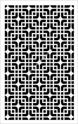 Geometric Panel Pattern