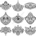 Gorgeous Ornamental Elements