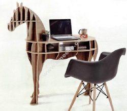 Horse Shaped Bookshelf