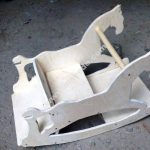 Laser Cut Rocking Horse Plywood 10mm