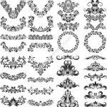 Ornate Decorative Design Elements Free