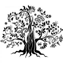 Pretty zen tree