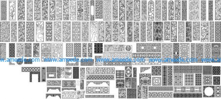 more than 120 free pattern cdr file