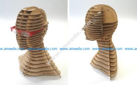 Vector model for CNC laser, router cutting