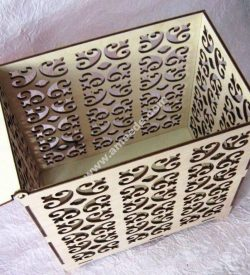 Wedding Box Laser Cut