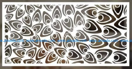 cnc cut pattern vector file 5