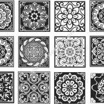 Chinese Design Patterns Vector