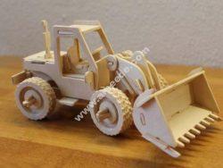 Excavator  3D puzzle