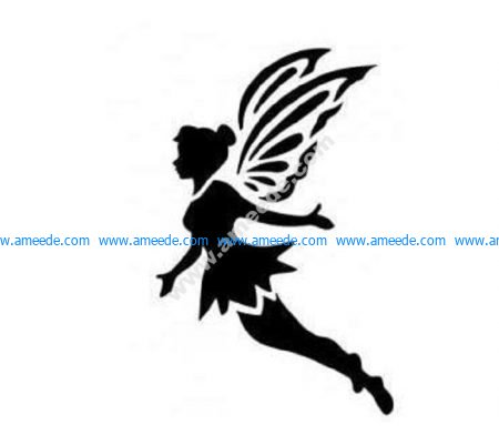 Flying fairy Peter Pan tinkerbell